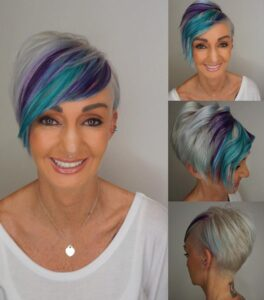 10 reasons why pixie is trending as a way of going gray www.sparklingsilverss.com