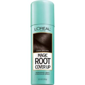 Gray Hair Root cover up spray www.sparklingsilvers.com